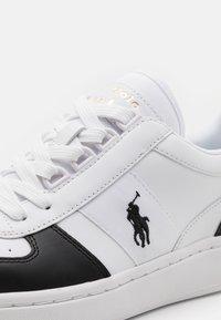 Polo Ralph Lauren - UNISEX - Tenisky - white/black - 5