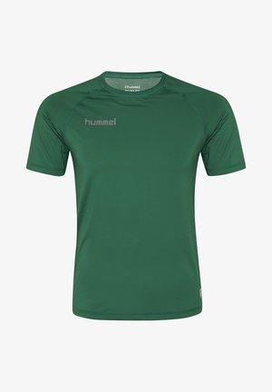 FIRST PERFORMANCE  - Print T-shirt - evergreen