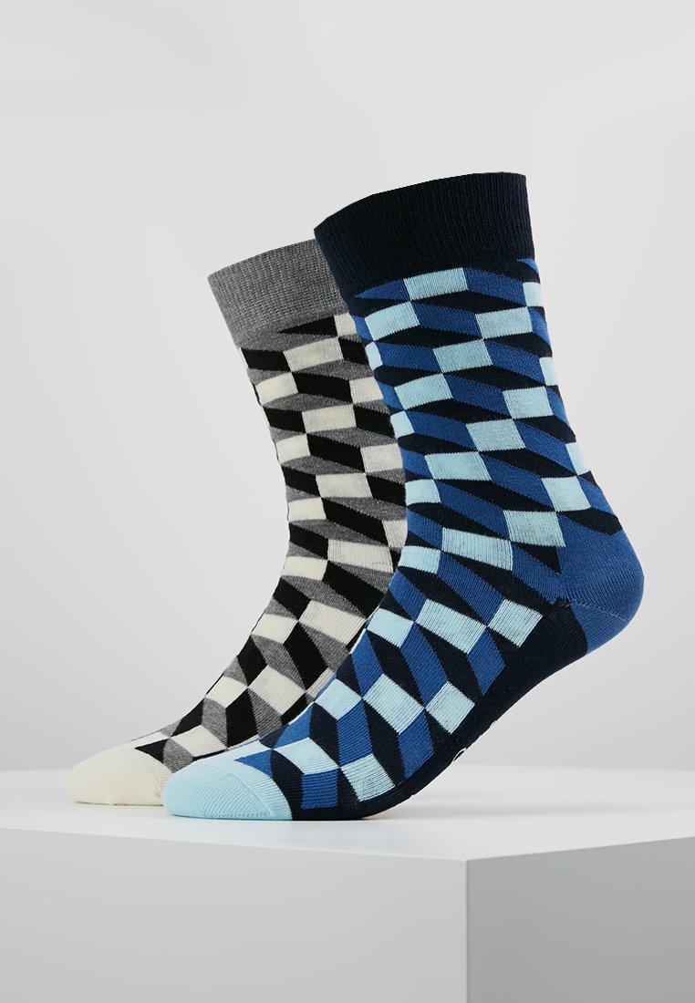 Happy Socks - FILLED OPTIC 2 PACK - Socks - multi-coloured