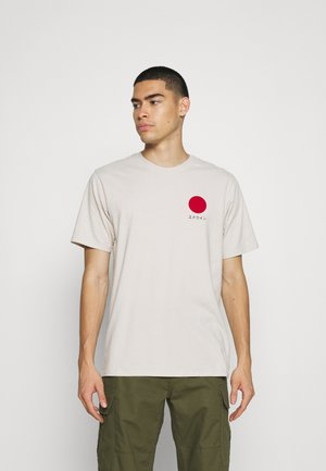 JAPANESE SUN UNISEX - T-shirt print - grey