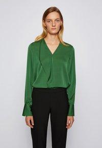 BOSS - IADELIA - Blouse - open green - 0