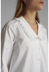 Nümph - Button-down blouse - bright white - 2