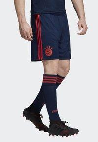 adidas Performance - FC BAYERN THIRD SHORTS - Short de sport - blue - 3