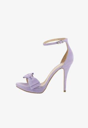 VALERIA - Sandalen met hoge hak - lila