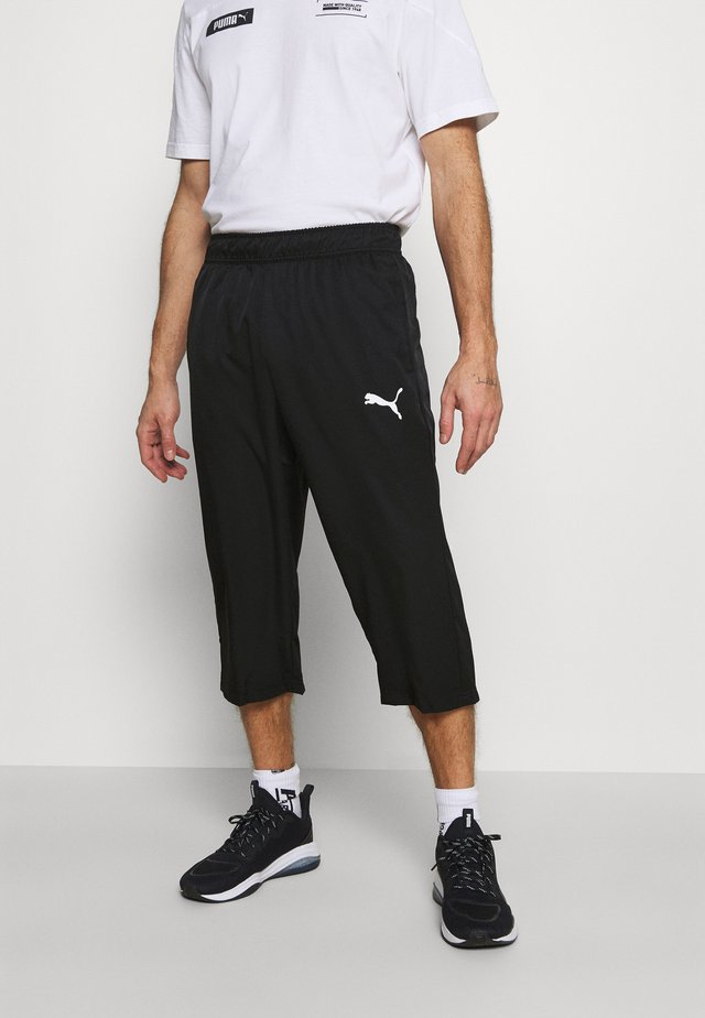 ACTIVE 3/4 PANTS - Urheilucaprit - black