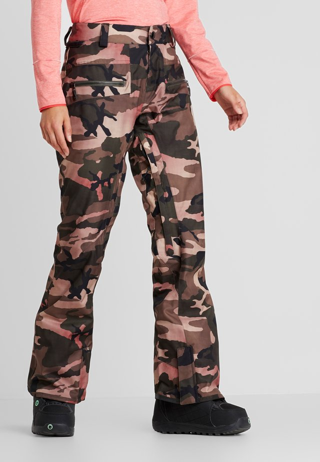 LEO 9.0 STRETCH PANT - Talvihousut - faded army