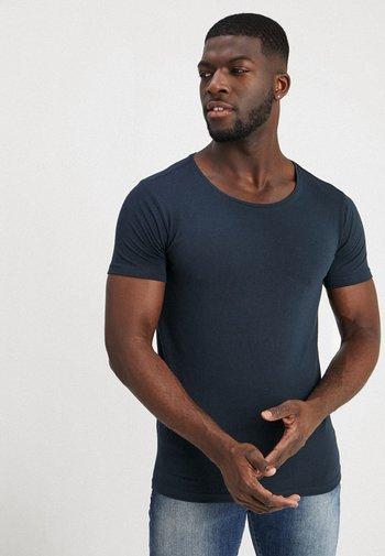 2 PACK - T-shirt - bas - deep navy