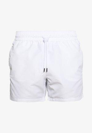 SPORT BLOCK - Swimming shorts - white
