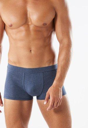 SUPIMA - Pants - denim mel