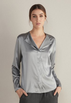 Blouse - grau - diamante