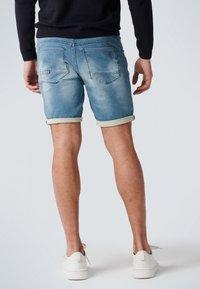 No Excess - Denim shorts - bleach denim - 1