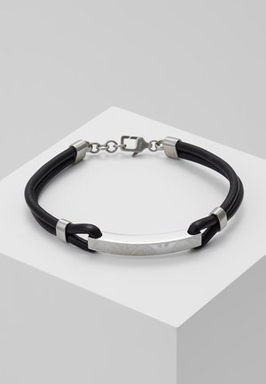 Armband - black/silber-coloured