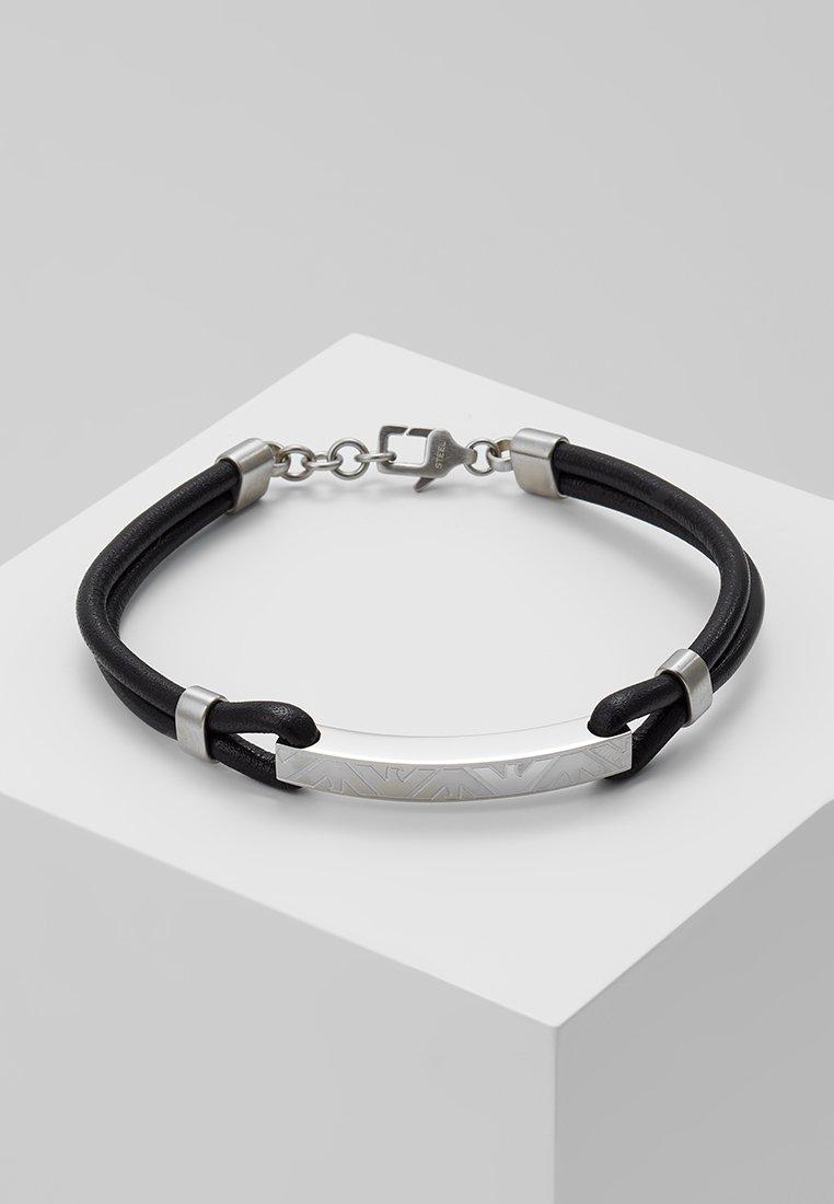 Emporio Armani - Pulsera - black/silber-coloured