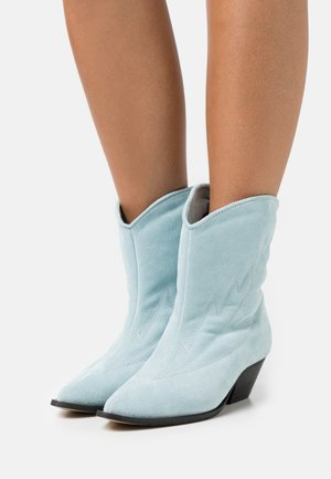 SUNSET LOVER - Cowboy/biker ankle boot - blue