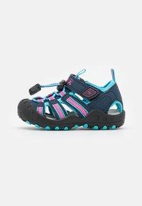 Kamik - CRAB UNISEX - Walking sandals - navy teal/marine bleu sarcelle - 0