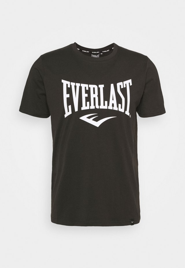 BASIC TEE RUSSEL - T-shirt con stampa - black