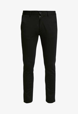 PONTE ROMA PLAIN - Trousers - black