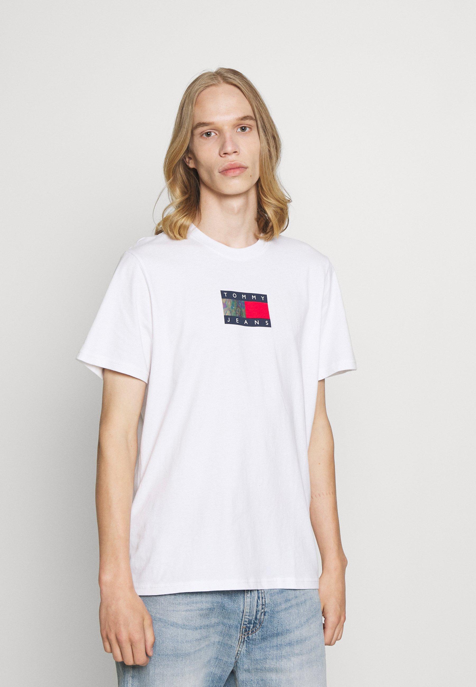 Uomo METALLIC FLAG TEE UNISEX - T-shirt con stampa