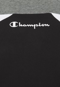 Champion - LEGACY MODULAR BLOCKING CREWNECK - Mikina - black/white - 2