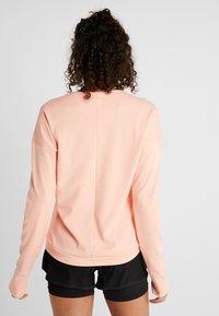 adidas Performance - RUN CRU - Langarmshirt - glow pink/heather - 2