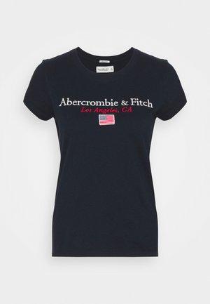 LOS ANGELES DESTINATION - T-shirts med print - navy