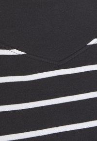 Esprit - STRIPED - Sweatshirt - black - 2