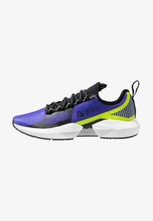 SOLE FURY TS - Sports shoes - purple/black/neon lime