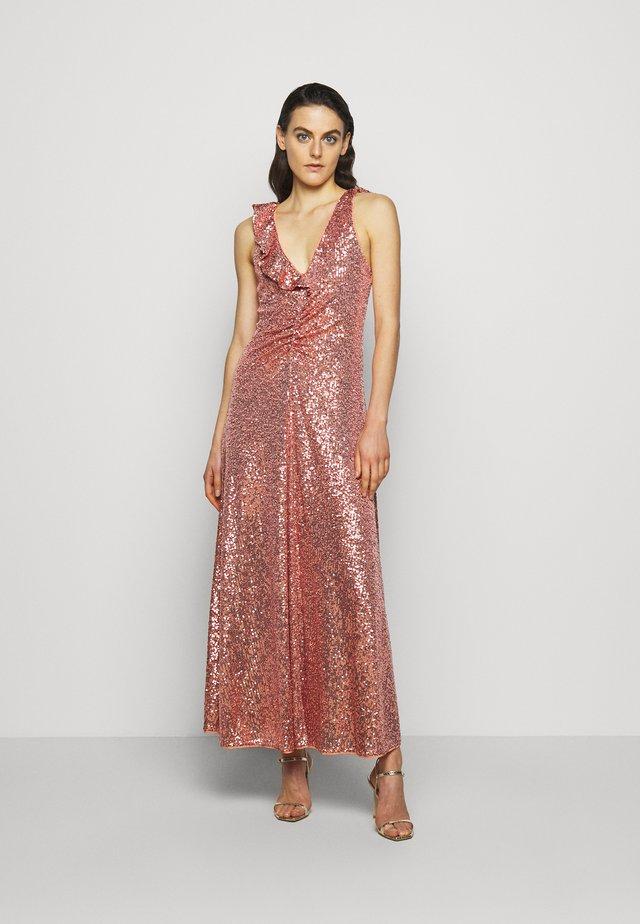 AUSTRALE DRESS - Ballkleid - terracotta
