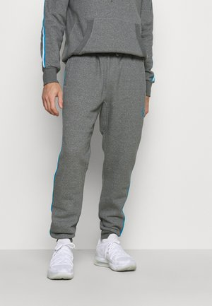 OWN BRAND TRACK - Träningsbyxor - grey heather