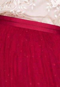 Needle & Thread - KISSES MIDI SKIRT EXCLUSIVE - A-line skirt - deep red - 4