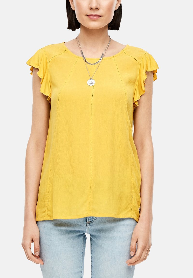 s.Oliver - Blouse - yellow