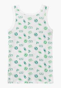 Schiesser - KIDS 2 PACK  - Undershirt - dark blue/white/green - 1