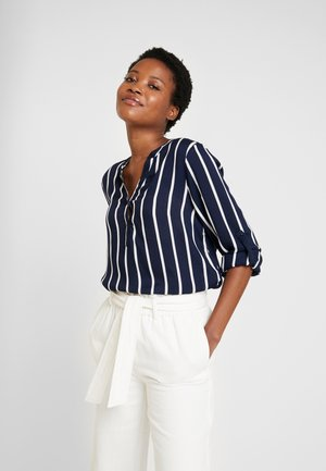 STRIDY BLOUSE - Bluser - midnight marine/chalk