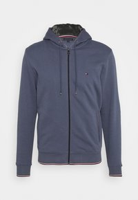Tommy Hilfiger - BASIC HOODY - veste en sweat zippée - faded indigo - 4