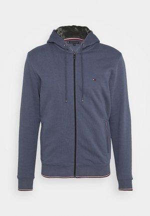 BASIC HOODY - veste en sweat zippée - faded indigo