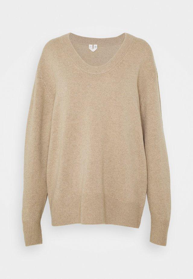 NIGHTWEAR  - Pyjamashirt - beige dusty