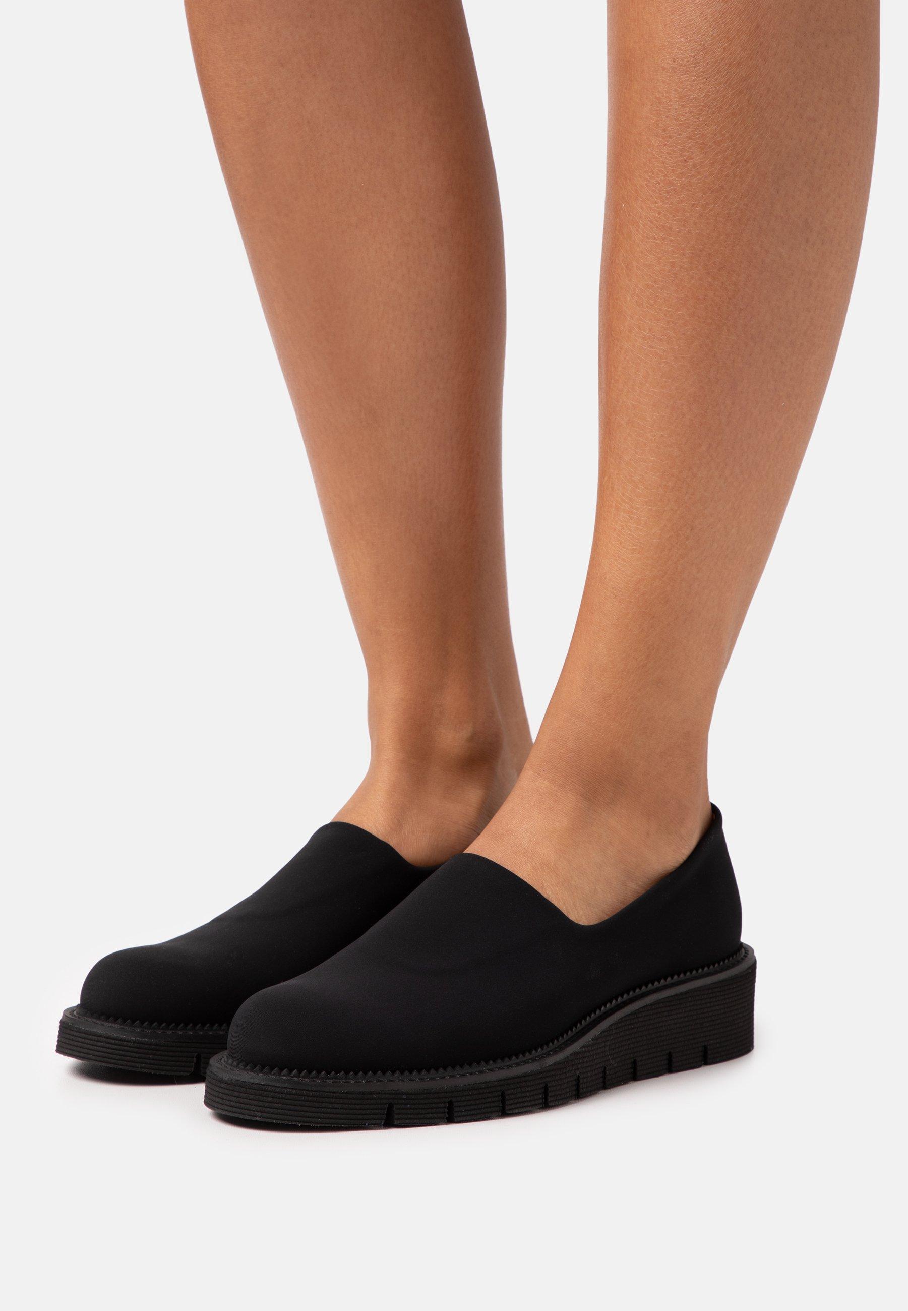 Femme SCOTCH - Escarpins compensés - black