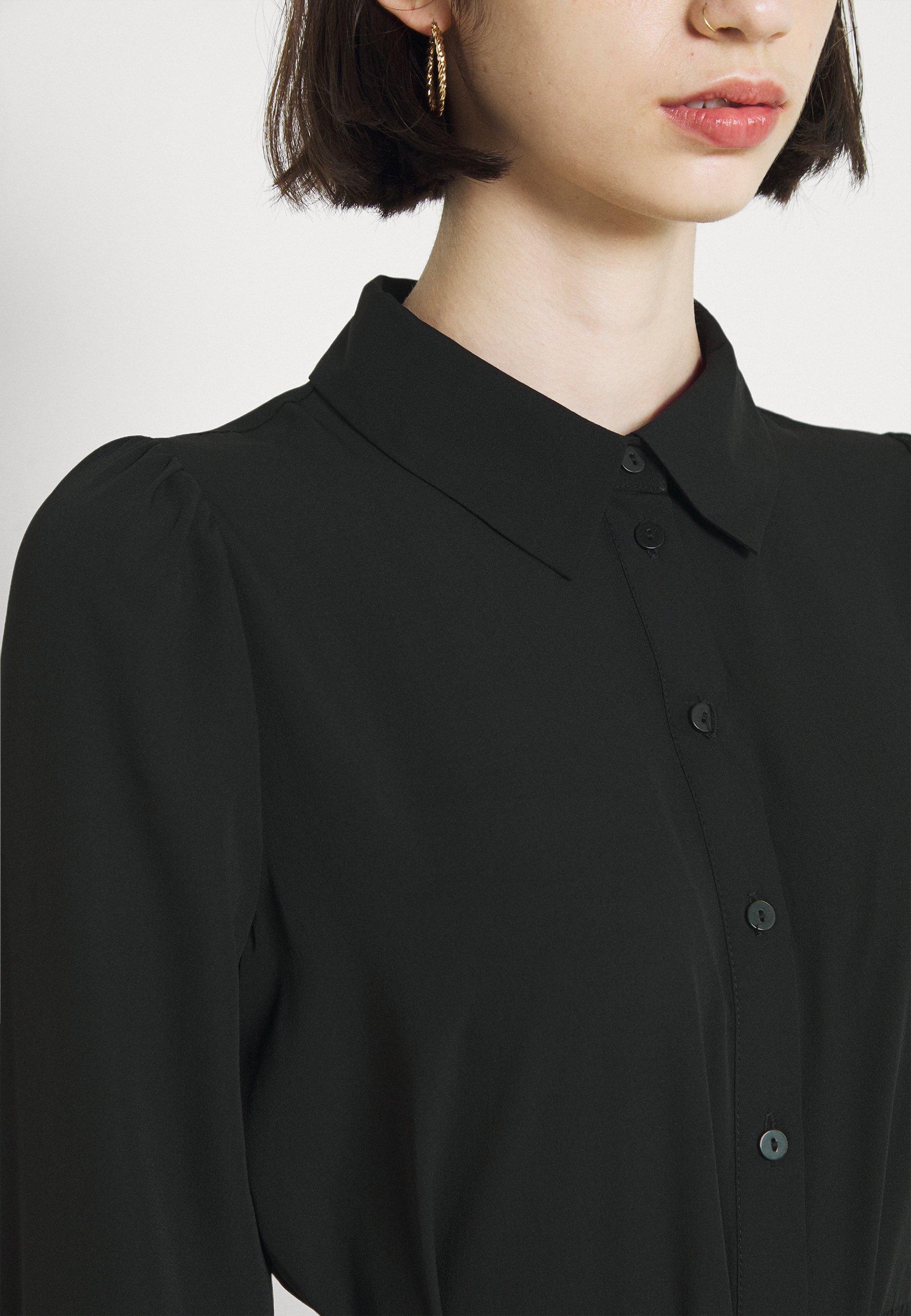 Mujer VMVEGA CALF SHIRT DRESS - Vestido camisero