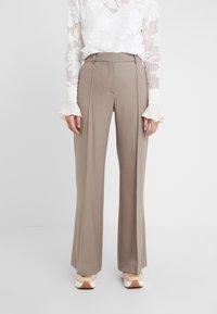 See by Chloé - Spodnie materiałowe - cinder beige - 0