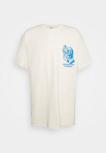 GROCERIES GRAPHIC - Print T-shirt - beige