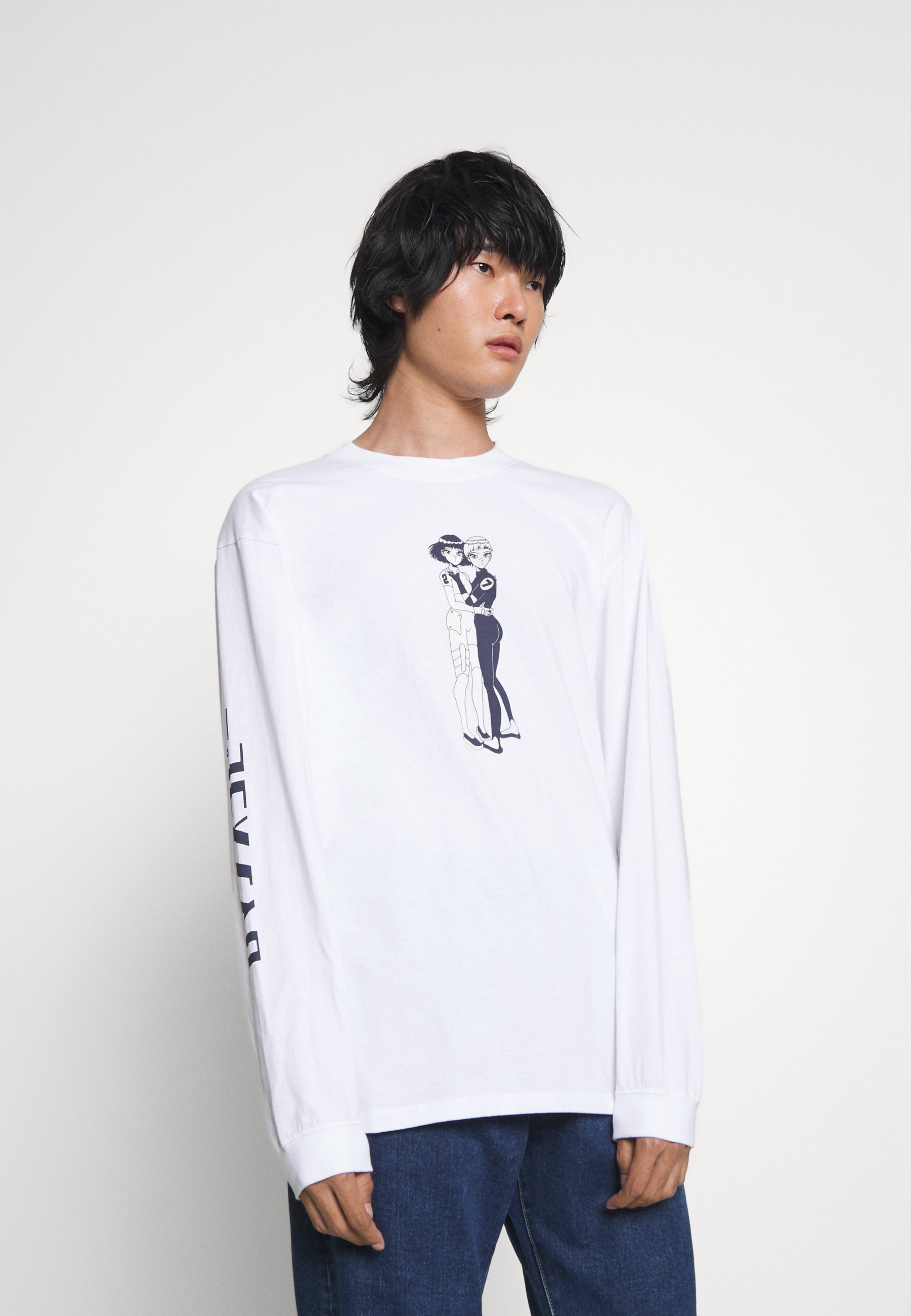 Men ROMANCE COPY - Long sleeved top