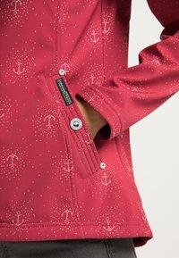 Schmuddelwedda - Outdoor jacket - rot aop - 3