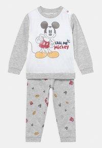 OVS - MICKEY - Pyjama set - grey melange - 0