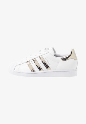 SUPERSTAR - Sneaker low - footwear white/silver metallic