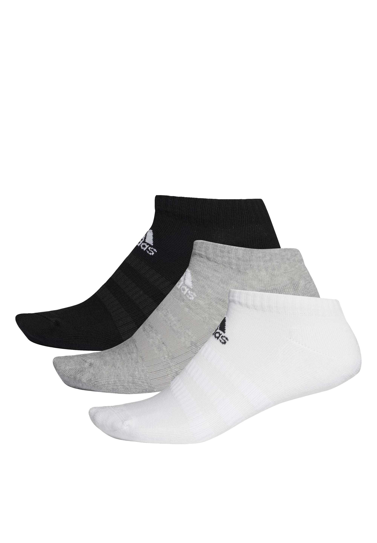 Men 3 STRIPES CUSHIONED NO SHOW 3 PAIR PACK - Sports socks