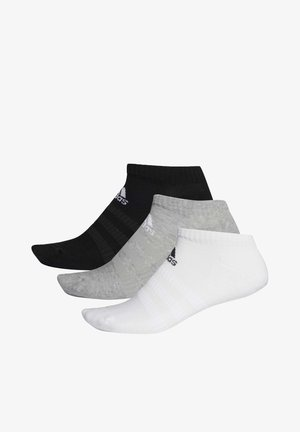 3 STRIPES CUSHIONED NO SHOW 3 PAIR PACK - Skarpety sportowe - grey