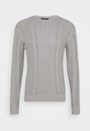 BELINSKI - Jumper - mottled light grey