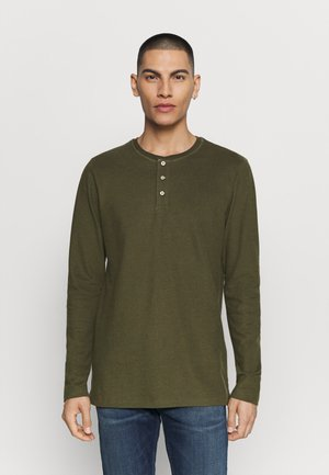 JJEJEANS NOOS - T-shirt à manches longues - olive night