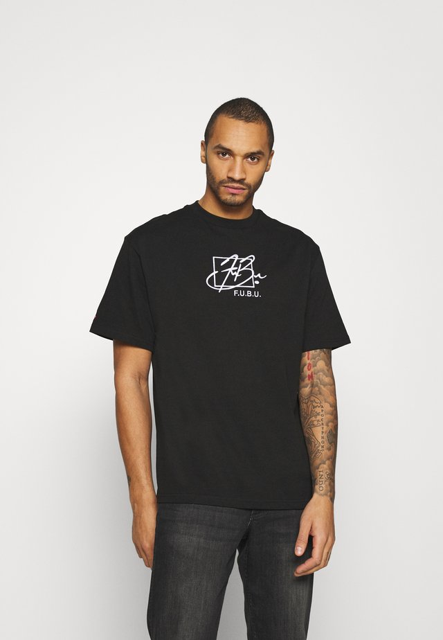 SCRIPT - Print T-shirt - black