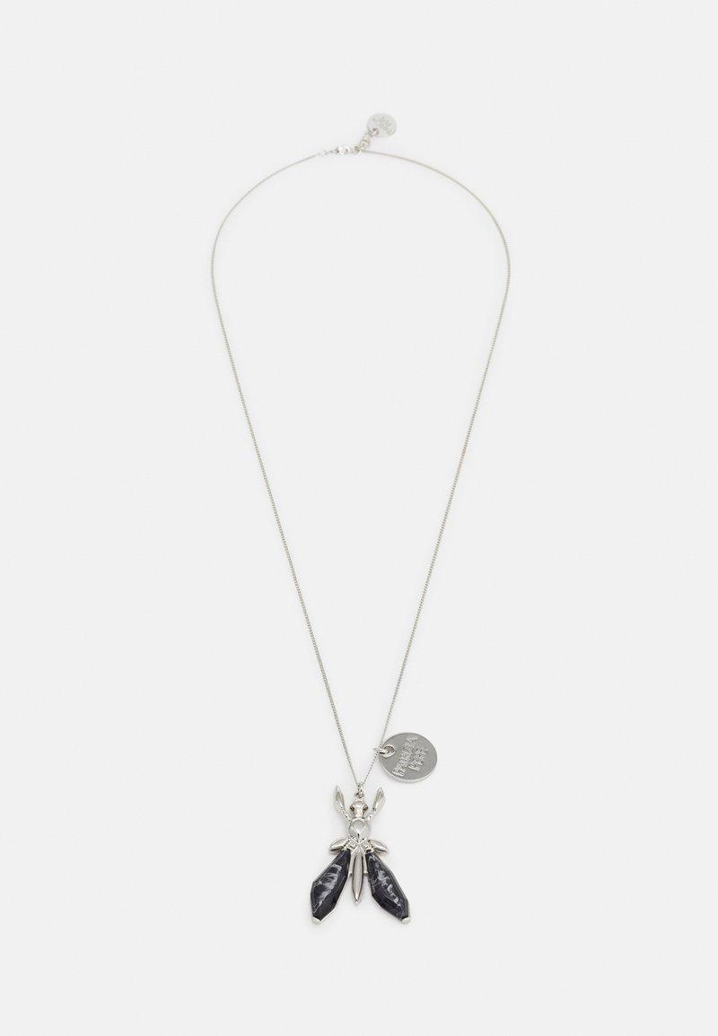 Patrizia Pepe - COLLANA - Necklace - stone black